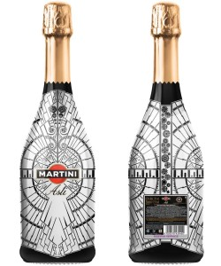 Как украсить бутылку мартини в подарок 46