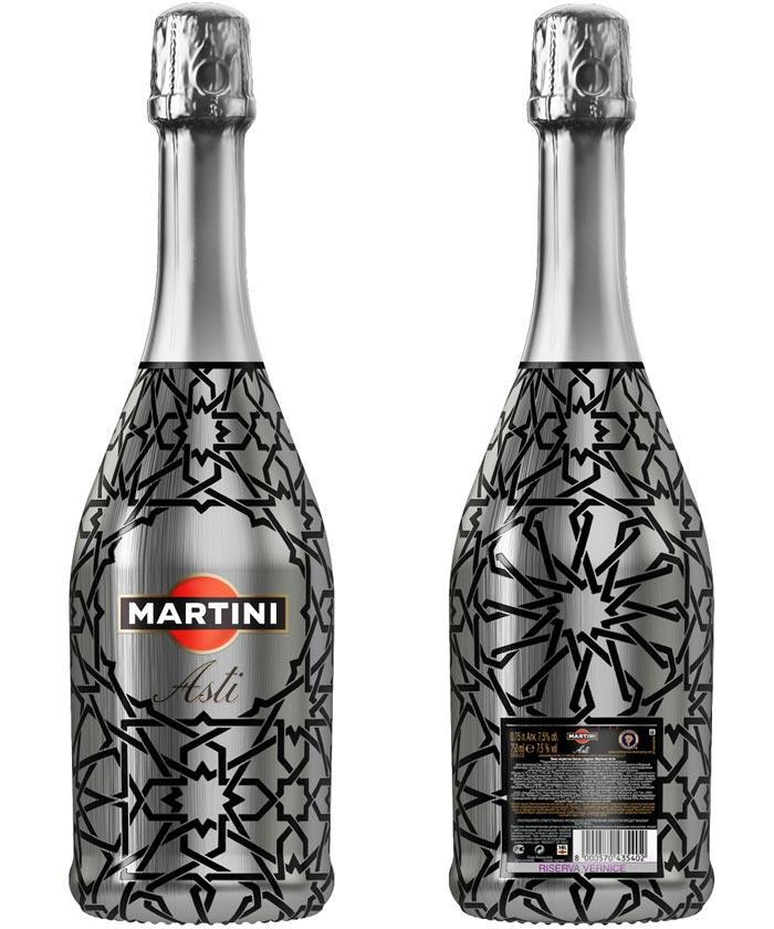 Как украсить бутылку мартини в подарок 12