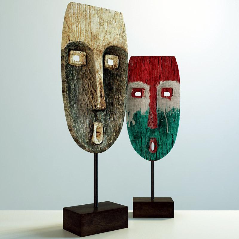 Masks Maison du Monde