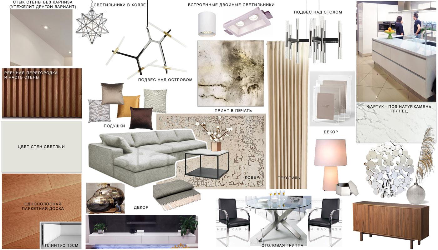 Дизайн и комплектация интерьера