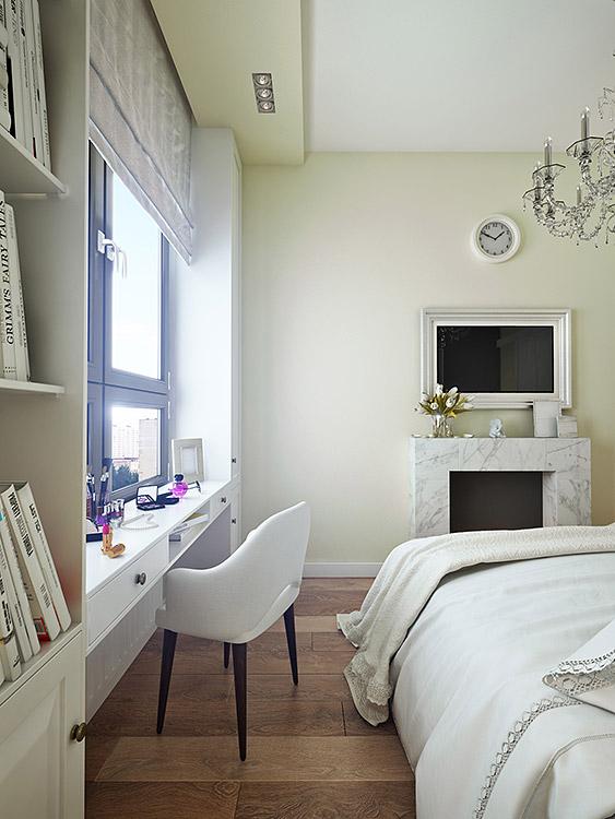 концепция интерьера, дизайн интерьера в жилом комплексе фили град, гостиная, кухня, студия, спальня