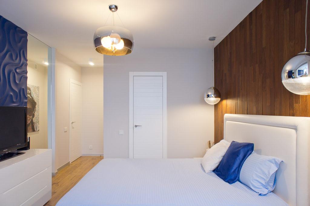Фото дизайна спальни п 44