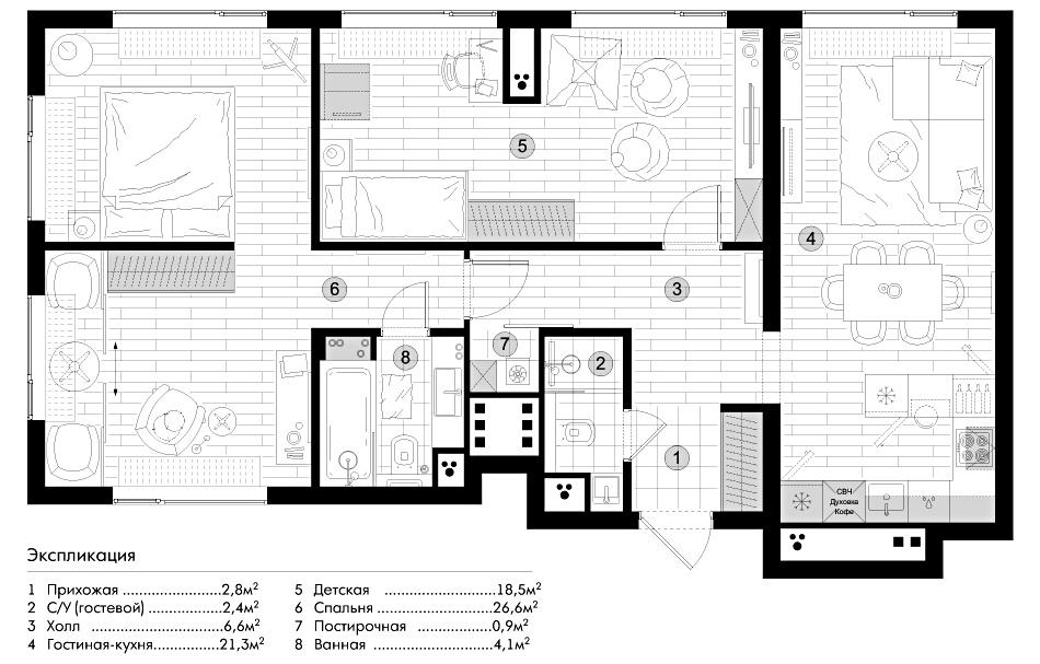 пресня сити, планировка, планировки, решение, планировочное, квартира, купить, дизайн, интерьер, егор, сомов, гостиная, кухня, детская, дизайн, проект, жк,