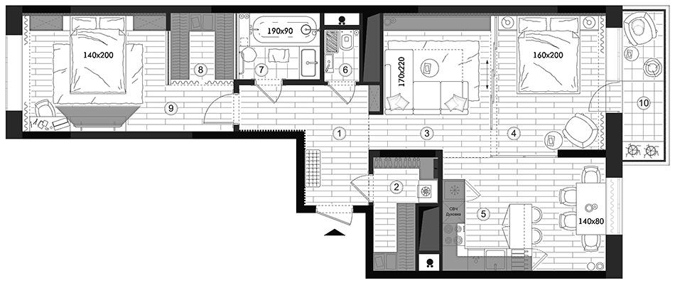 план, планировка, квартира, купить, дизайн, перепланировка, интерьер, егор, сомов, дизайнер, проект, московские, водники